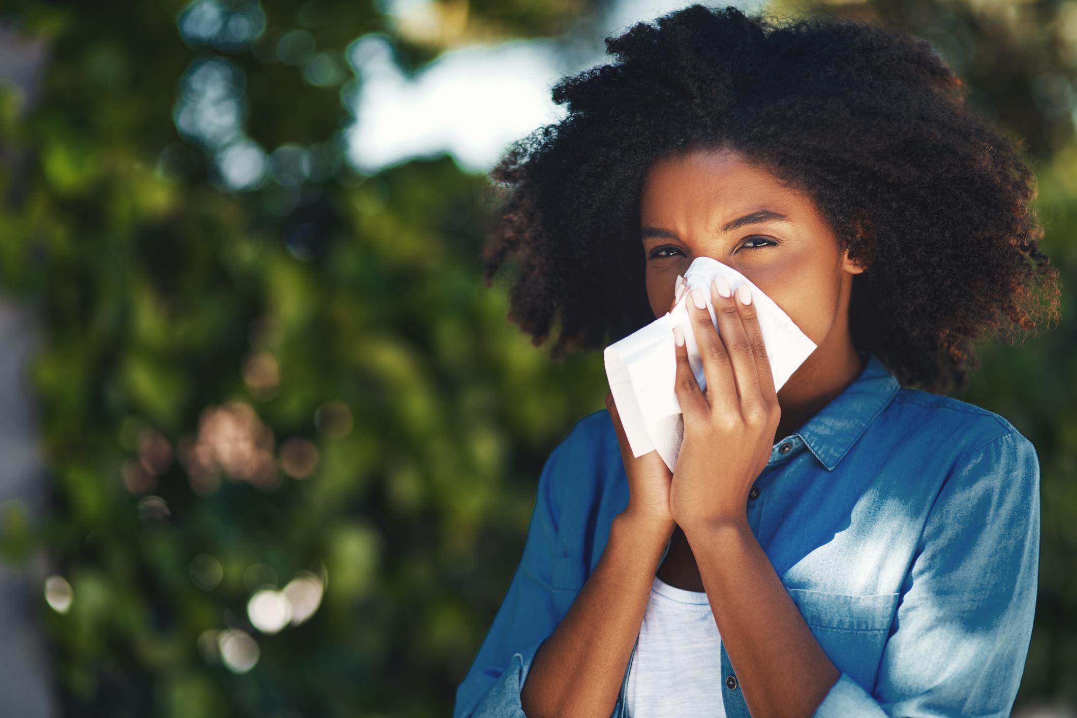 ¿Tiene alergia o un resfrío?