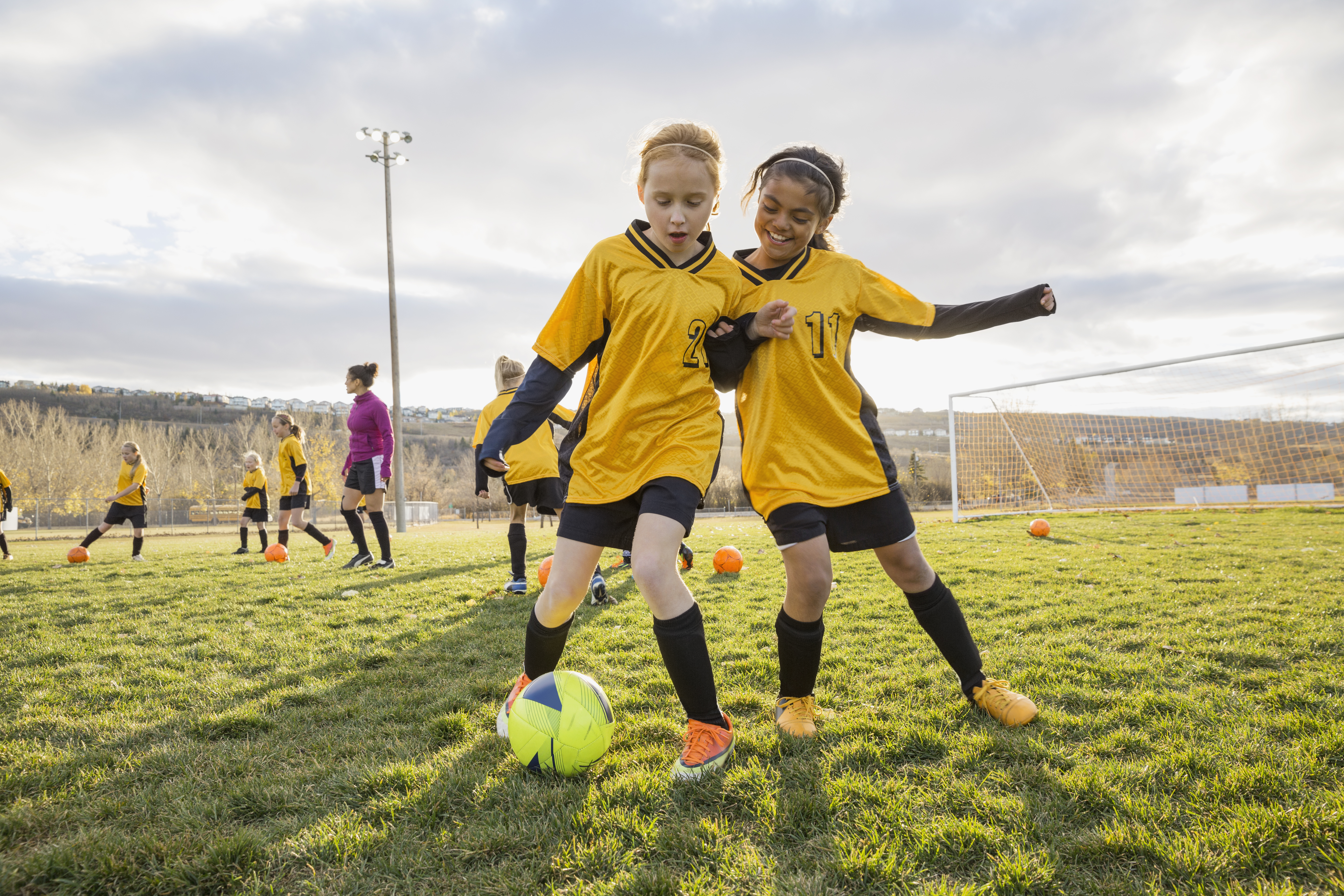 Less Pain, More Gain: Help Your Young Athlete Avoid Sports Injuries