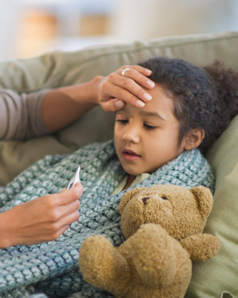 儿童和COVID-19症状